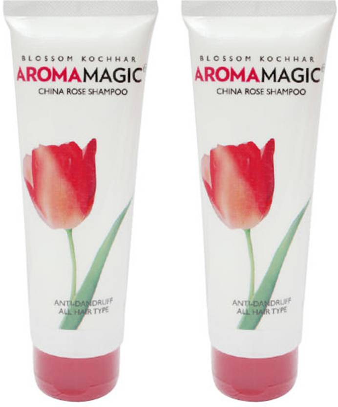 Aroma Magic China Rose Anti Dandruff Shampoo - Set of 2 (240 ml)