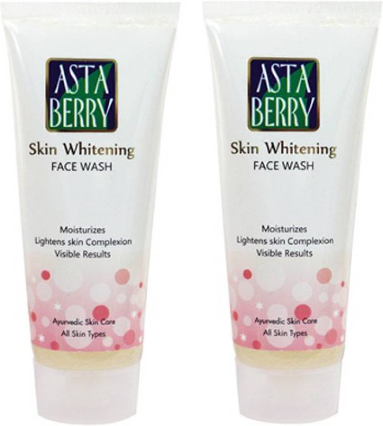 Astaberry Skin Whitening Scrub-Pack of 2 Face Wash (200 g)