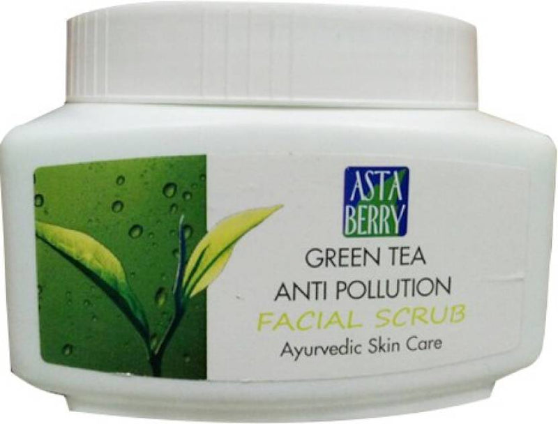 Astaberry Green Tea Anti Pollution Facial  Scrub (500 ml)