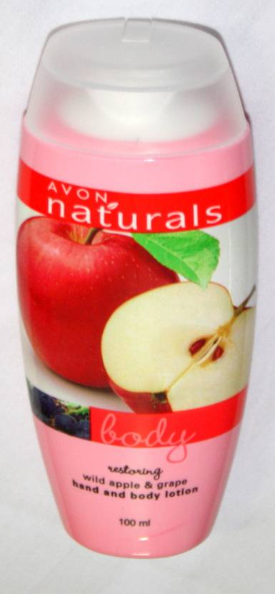 Avon Restoring wild apple and grape hand and body lotion (100 ml)