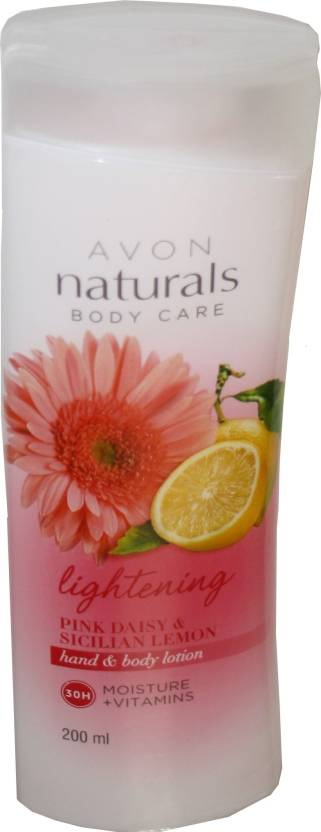 Avon Naturals Lightening Pink Daisy And Sicilian Lemon Hand And Body Lotion (200 ml)
