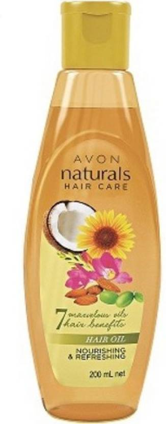 Avon Naturals Nourishing & Refreshing  Hair Oil (200 ml)