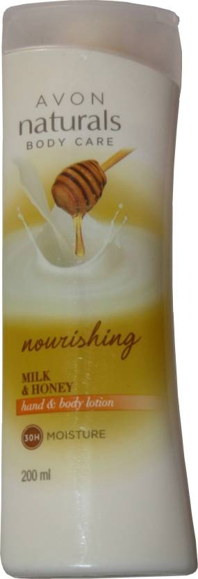 Avon Nourishing Milk And Honey Hand And Body Lotion (200 ml)