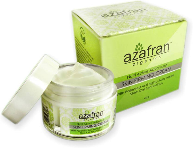 Azafran Organics Nutri Active Advanced Skin Firming Cream (40 g)