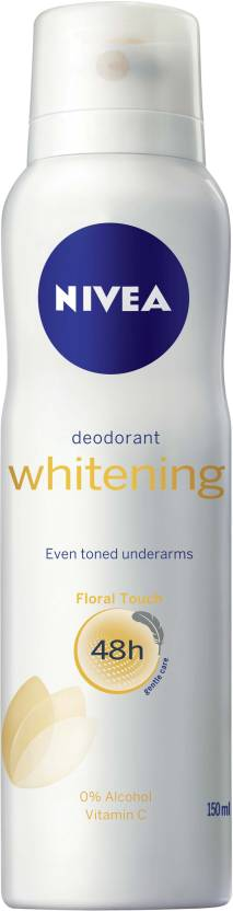 Nivea Whitening Floral Deodorant Spray  -  For Men & Women (150 ml)