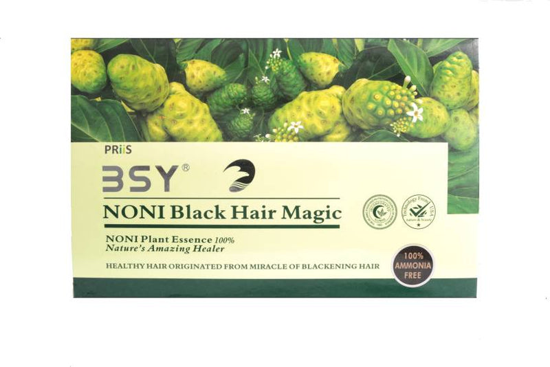 BSY Noni Black Magic Hair Color (Natural Black)