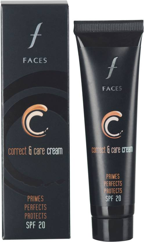 Faces CC Cream (Womens) Foundation (Natural 01, 35 ml)
