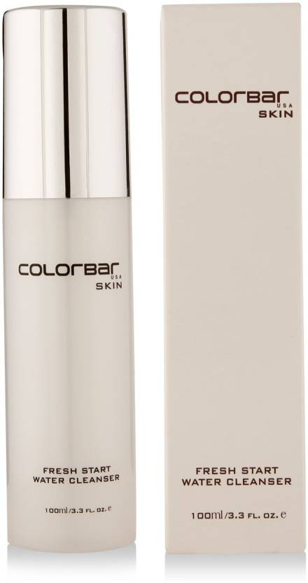 Colorbar Fresh Start Water Cleanser Makeup Remover (100 ml)