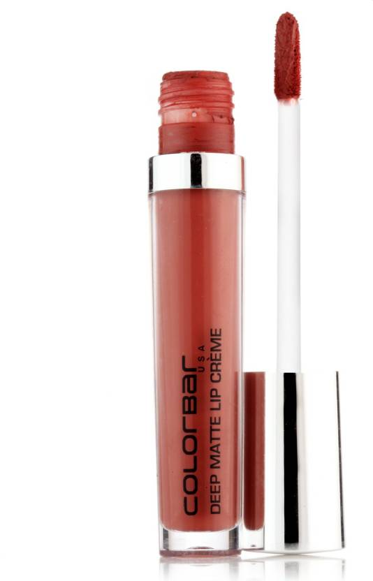 Colorbar Deep Matte Lip Creme (6 ml, Deep Coco)