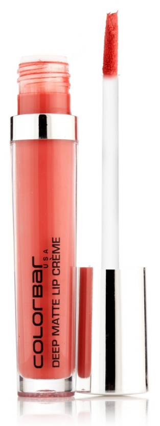 Colorbar Deep Matte Lip Creme (6 ml, Deep Peach)