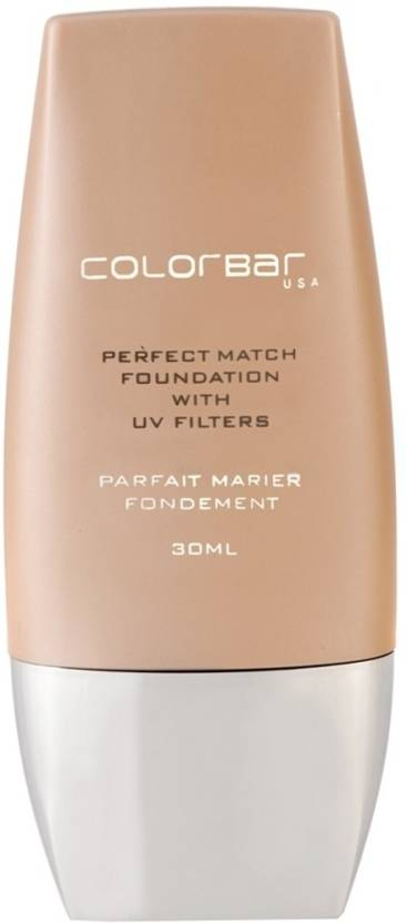 Colorbar Perfect Match  Foundation (Classic Ivory - 01, 30 ml)