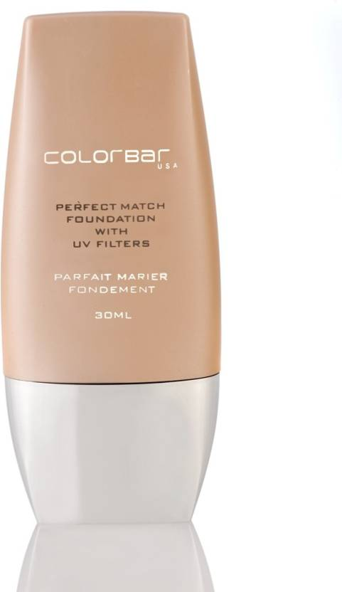 Colorbar Perfect Match  Foundation (Warm Beige 003, 30 ml)
