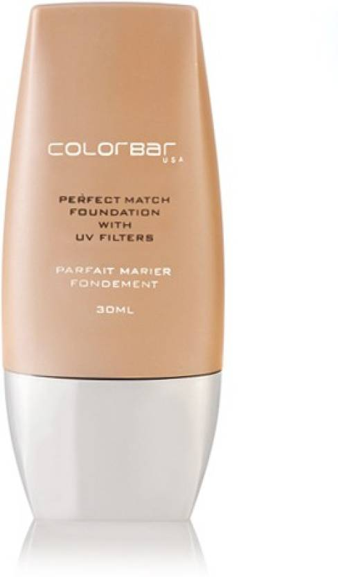 Colorbar Perfect Match Foundation (004 Natural Beige, 30 ml)
