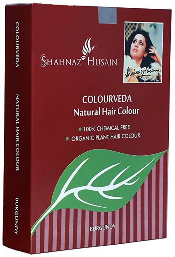 Shahnaz Husain Colorveda Natural  Hair Color (Burgundy)