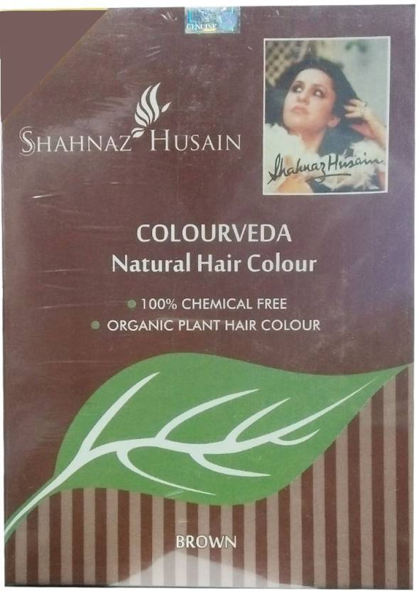 Shahnaz Husain Colourveda Natural  Hair Color (Brown)