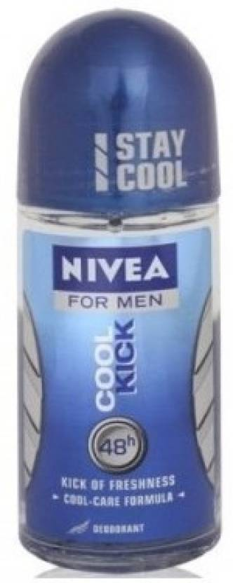 Nivea Cool Kick Deodorant Roll-on  -  For Men (50 g)