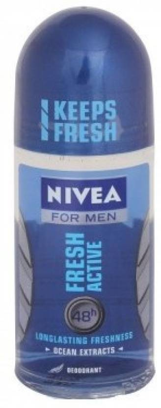 Nivea Fresh Active Deodorant Roll-on  -  For Men (50 g)