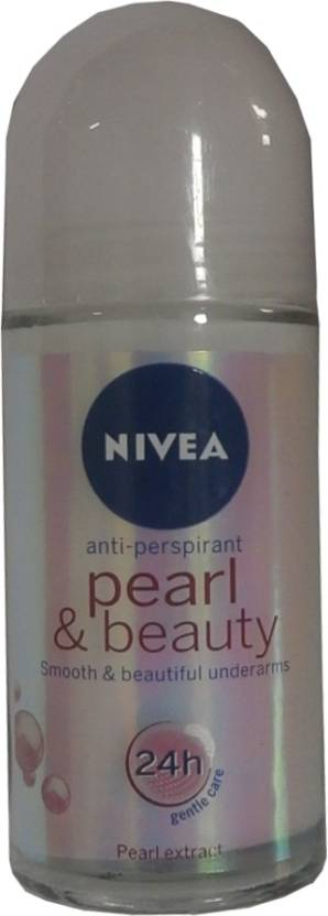 Nivea Pearl & Beauty Deodorant Roll-on  -  For Women (50 ml)
