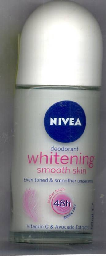 Nivea Whitening Smooth Skin Deodorant Roll-on  -  For Women (50 ml)