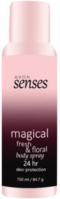 Avon Senses Magical Fresh & Floral Deodorant Spray  -  For Men & Women (150 ml)