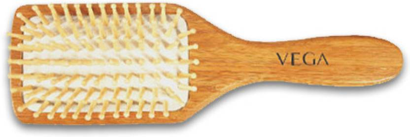 Vega Wooden Bristle Paddle Brush