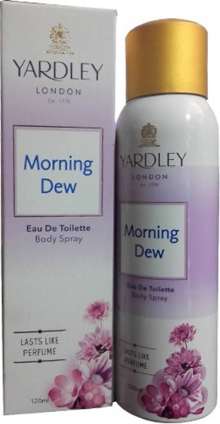 Yardely Morning Dew Eau de Toilette  -  120 ml (For Men & Women)