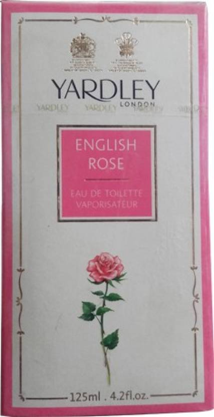 Yardely English Rose Eau de Toilette  -  125 ml (For Women)