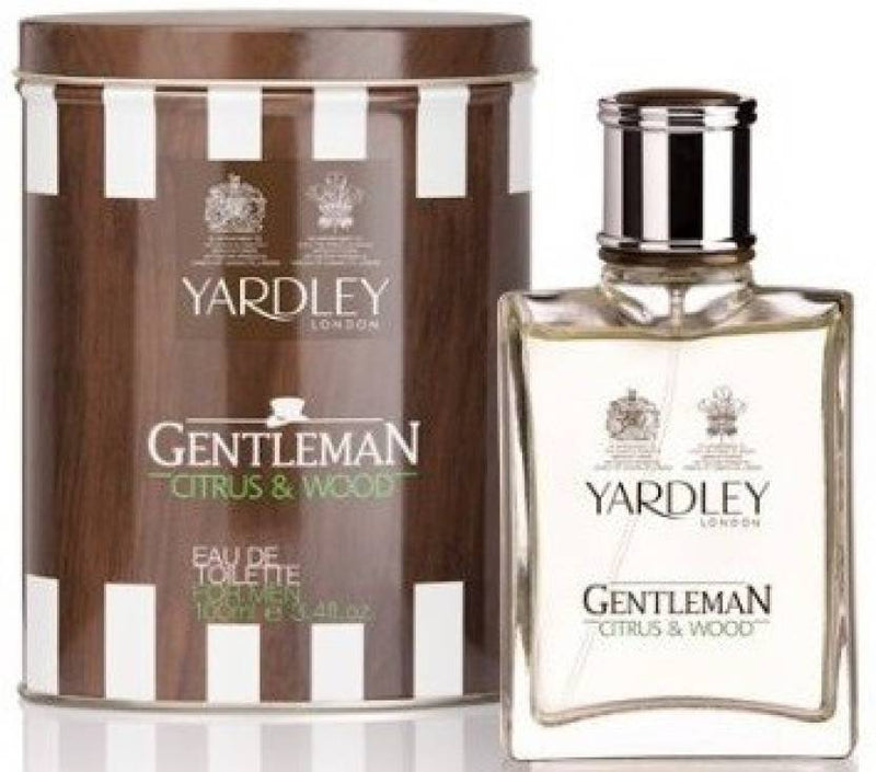 Yardley London London Gentleman Citrus & Wood Perfume Eau de Toilette  -  100 ml (For Men)