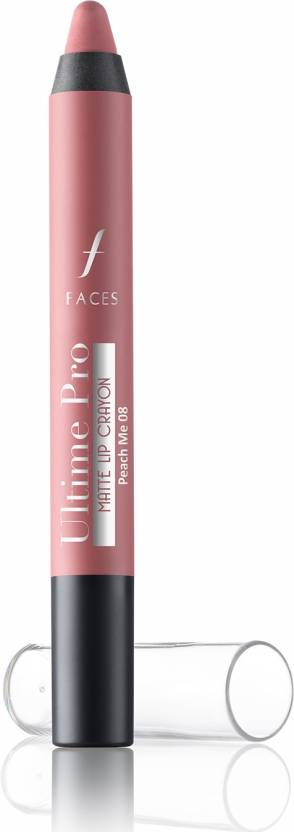 Faces Ultime Pro Matte Lip Crayon (2.8 g, Peach Me 08)