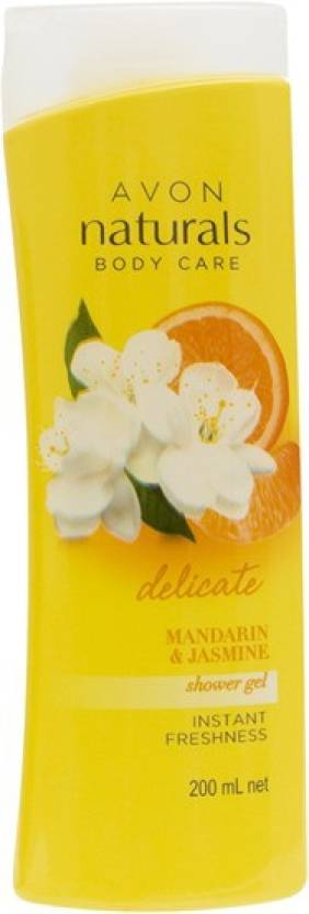Avon Naturals mandarin & jasmine shower gel (200 ml)