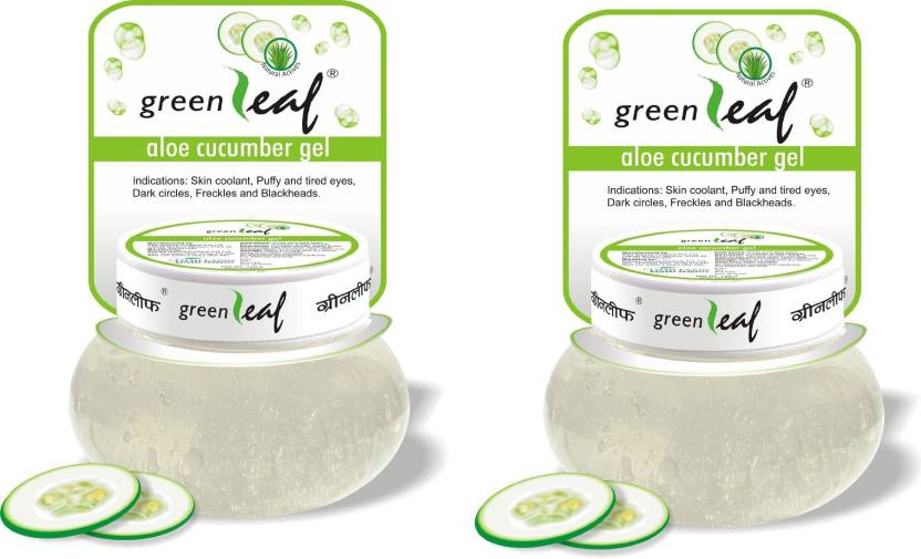 Green Leaf Aloe Cucumber Gel Pack Of 2 (240 g)