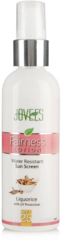 Jovees Sunscreen Fairness Lotion - SPF 25 PA+ (200 ml)