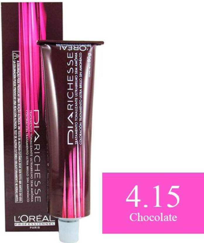 L'Oreal Professionnel Dia Richesse  Hair Color (4.15 Chocolate)
