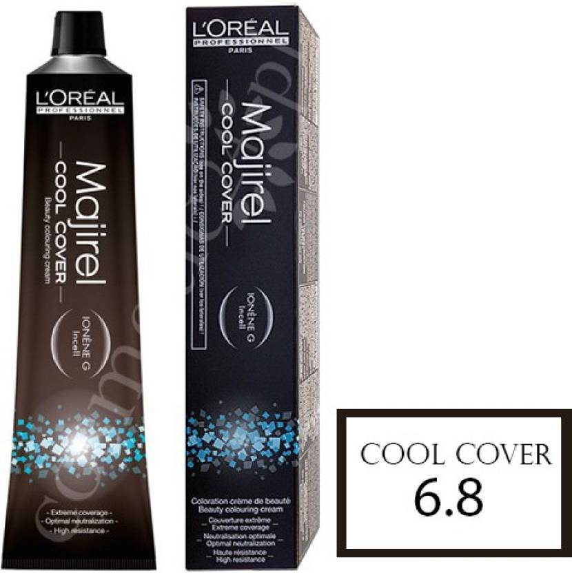 L'Oreal Professionnel Majirel Cool Cover Coloring Hair Color (6.8 Dark Mocha Blonde)