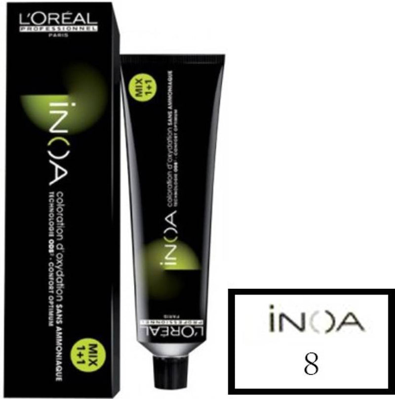 L'Oreal Paris Inoa  Hair Color (8 Light Blonde)