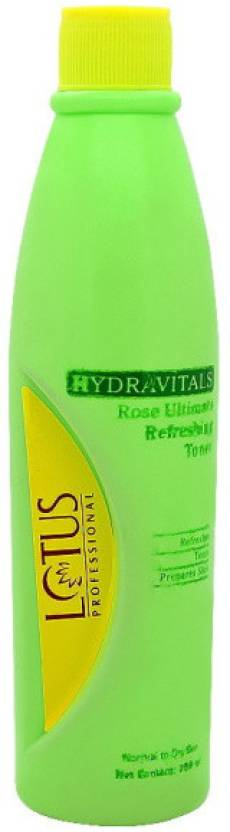 Lotus Professional Hydravitals Rose Ultimate Refreshing Toner (250 ml)