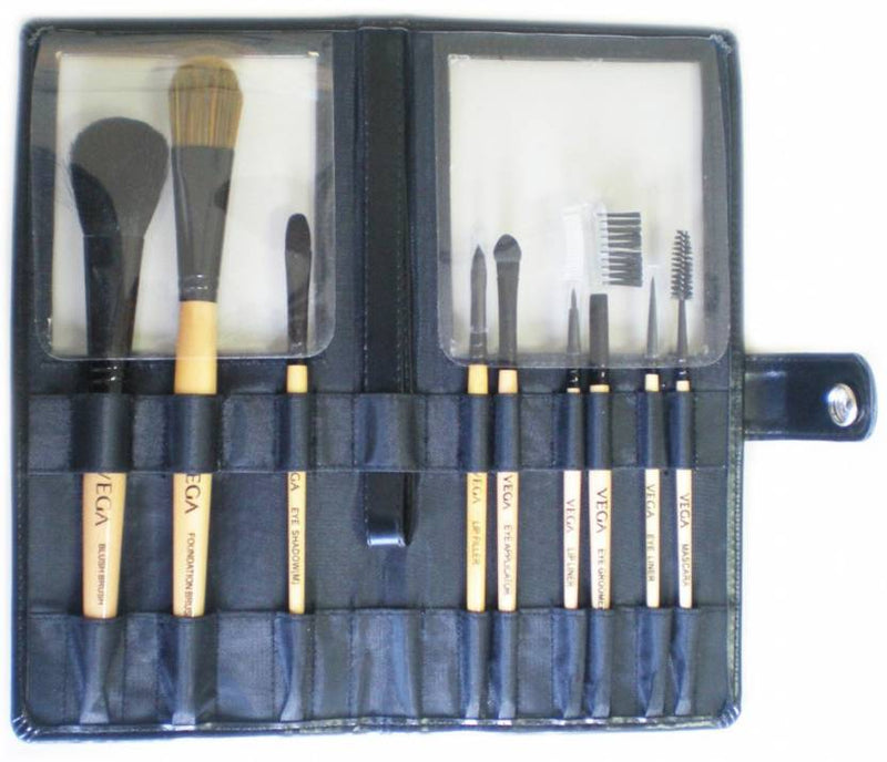 Vega Makeup Brushes Set of 9 EVS 09 (Pack of 9)