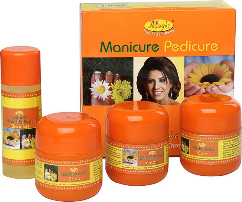 Nature's Essence Magic Manicure Pedicure Kit (300 g, Set of 4)