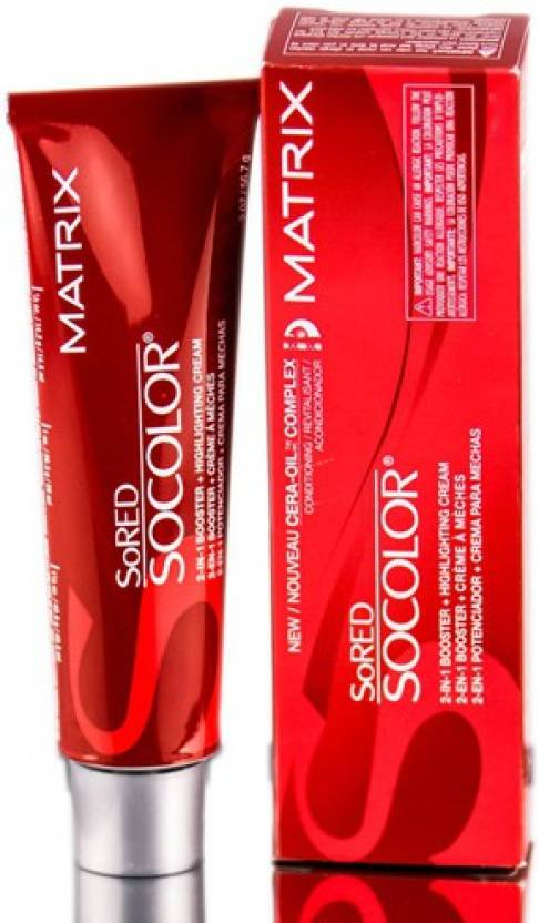 Matrix Socolor Permanent  Hair Color (7 Medium Blonde)