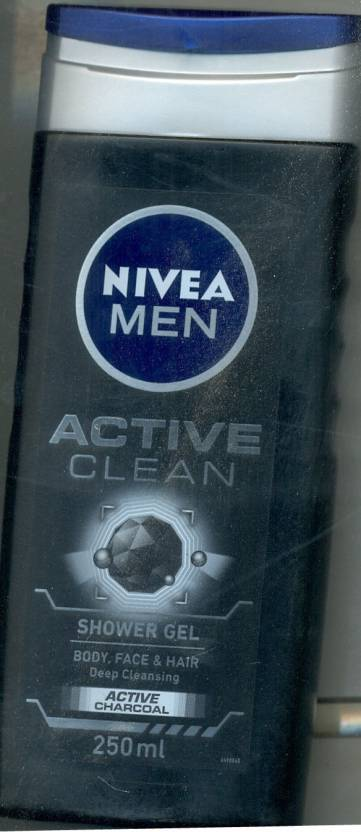 Nivea Men Active Clean Shower Gel (250 ml)