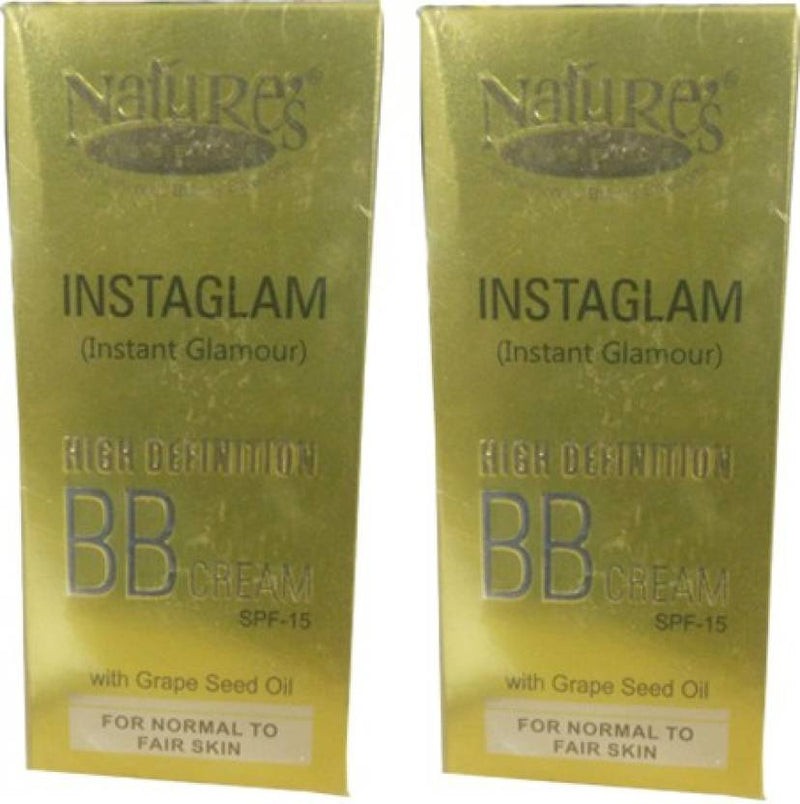 Nature's Instaglam High Definition BB Cream Pack of 2 (40 g)