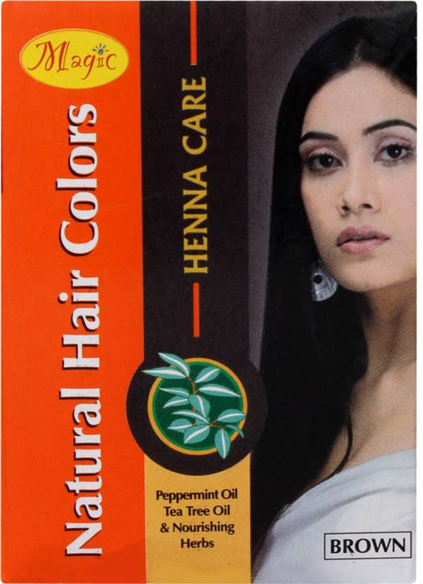 Nature'S Natural Hair Colors - Henna Care Hair Color (Brown)
