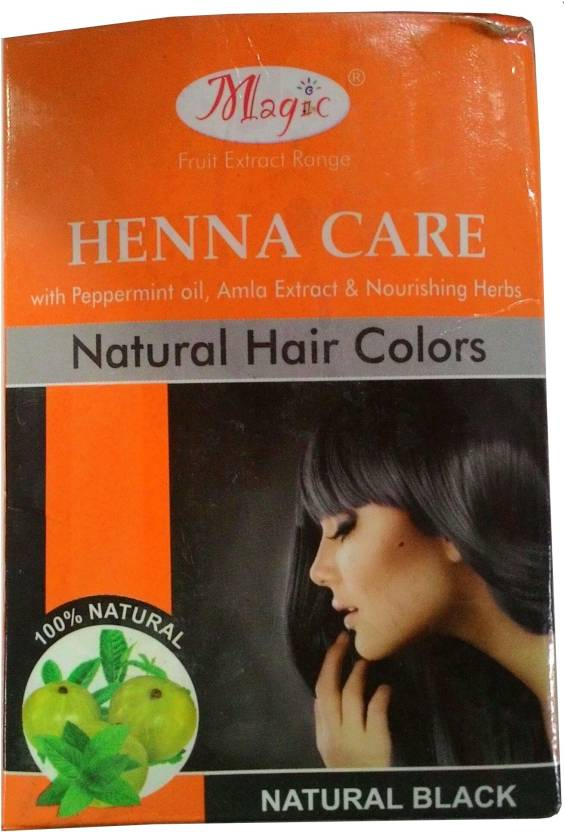 Nature'S Natural Hair Colors - Henna Care Hair Color (Black)