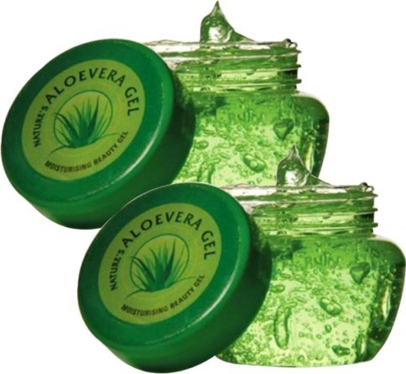 Nature's Aloe Vera Gel Pack of 2 (150 g)