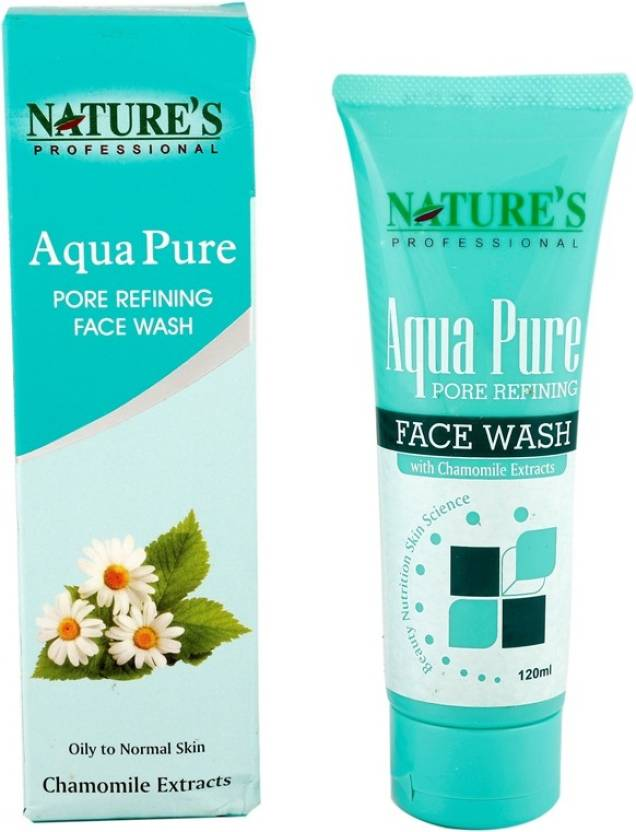 Nature's Essence Aqua Pure Pore refining Face Wash (120 ml)