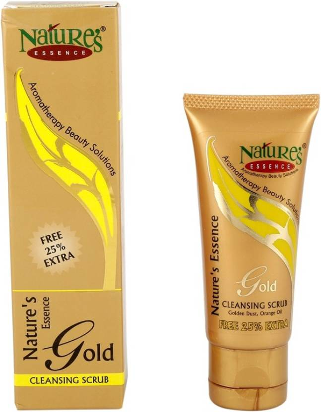 Nature's Essence Gold Cleanser Scrub (Tube) Scrub (50 g)