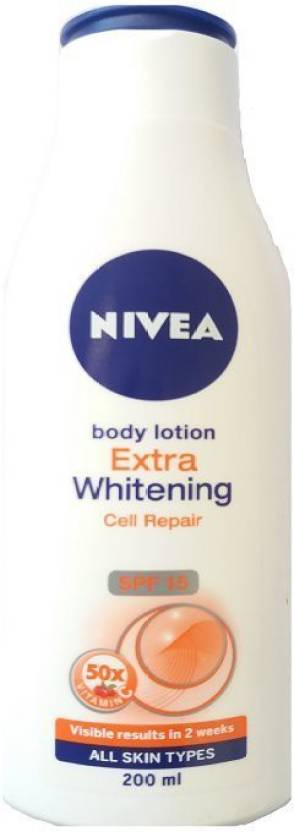 Nivea Extra Whitening Body Lotion (200 ml)