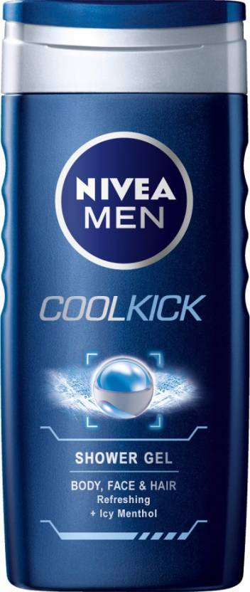 Nivea Cool Kick Shower Gel for Men (250 ml)