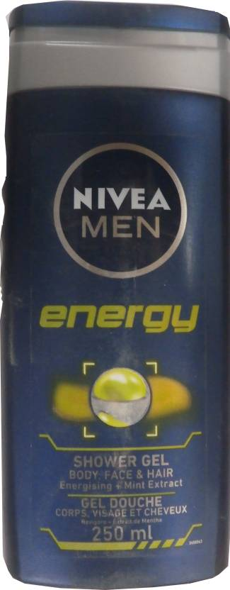 Nivea Energy Shower Gel for Men (250 ml)