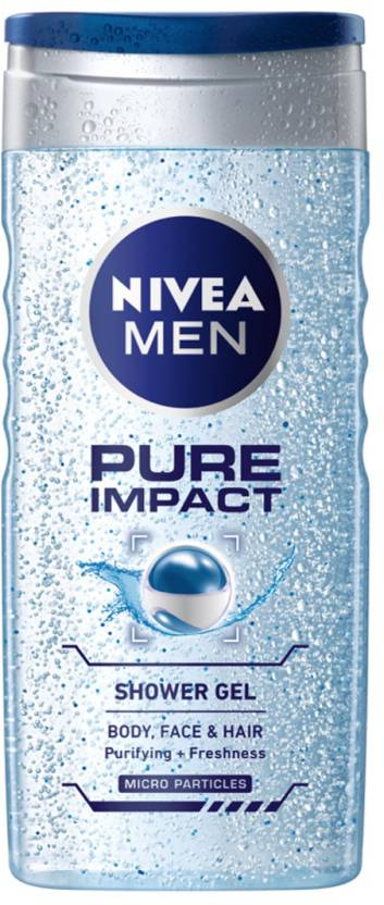 Nivea Pure Impact Shower Gel for Men (250 ml)